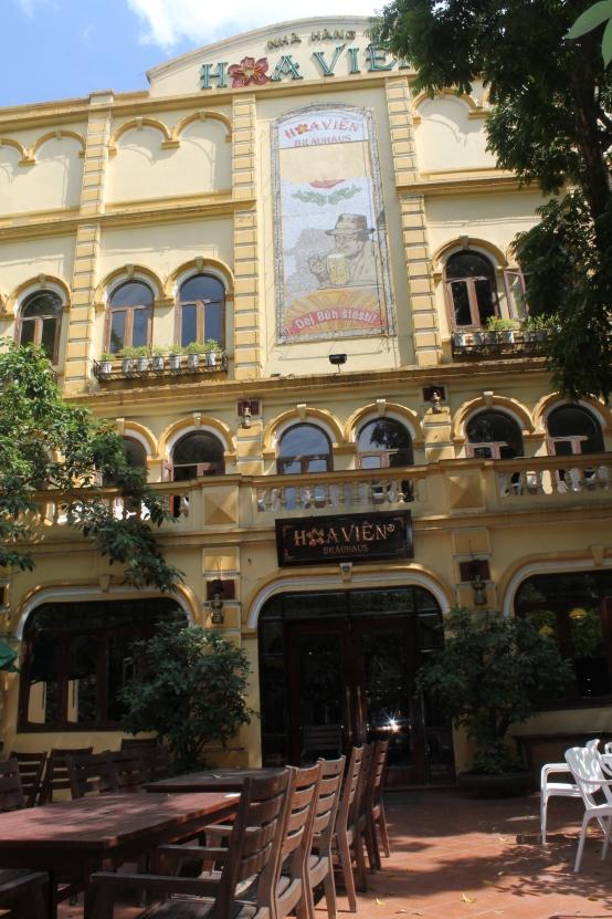 Hoavien brewery Hanoi
