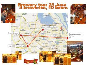 Brewery tour Hanoi