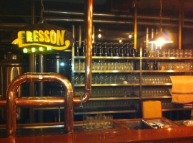eresson Hanoi, 3 beers on tap