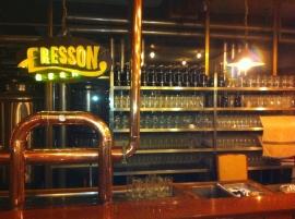 eresson Hanoi, 3 beers on tap
