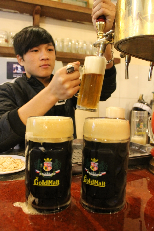 Goldmalt beer