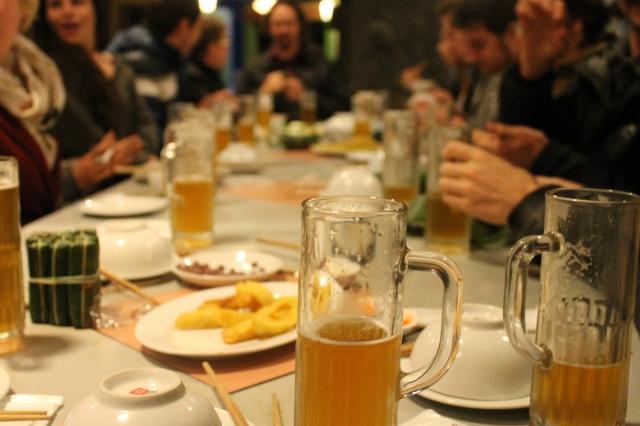 Pho beer Hanoi