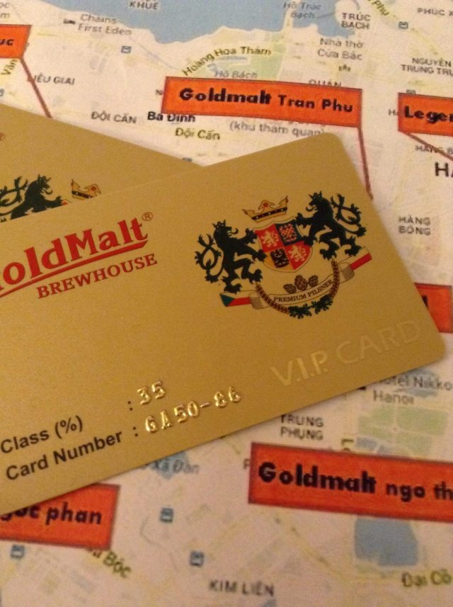 Goldmalt VIP card