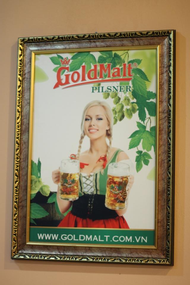 Goldmalt beer Hanoi