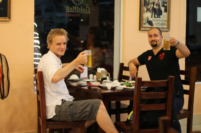 Czech beer Hanoi