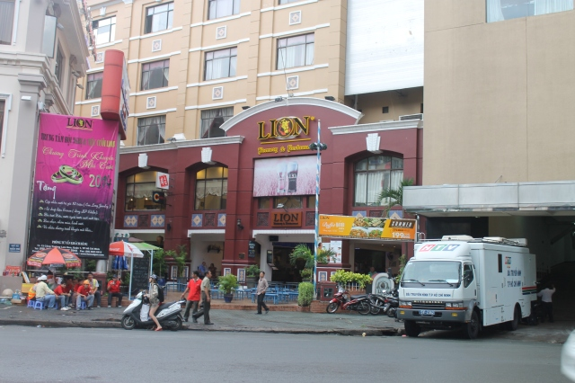 Lion brewery Saigon