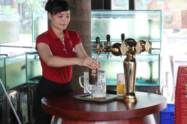 German beer Ninh Binh